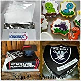 """Premium Edible Frosting Sheets, Sugar Sheets, Icing sheets 24 count (8.5"""" X 11"""") A4 Edible Paper for cake printers"""