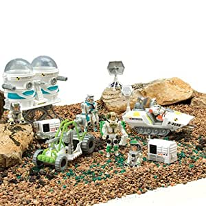 Astronaut Adventure with capsule and more - 30 piece