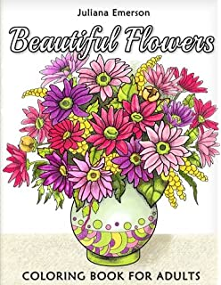 Amazon.com: Flowers Coloring Book: Beautiful Pictures from the ...