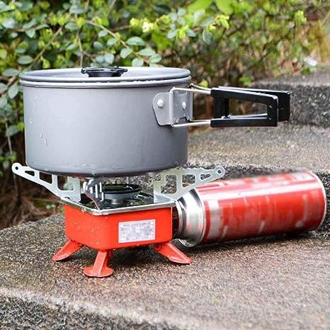 Estufa de gas Horno De Cocina De Campamento, Barbacoa Portátil Al Aire Libre Estufa De