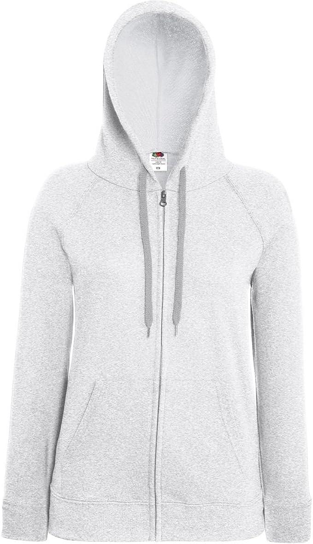 Fruit Of The Loom Ladies Lady-Fit Hooded Sweatshirt Jacket