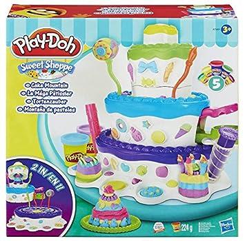 Play-Doh - Montaña de Pasteles, Juego Creativo (Hasbro A7401EU4 ...