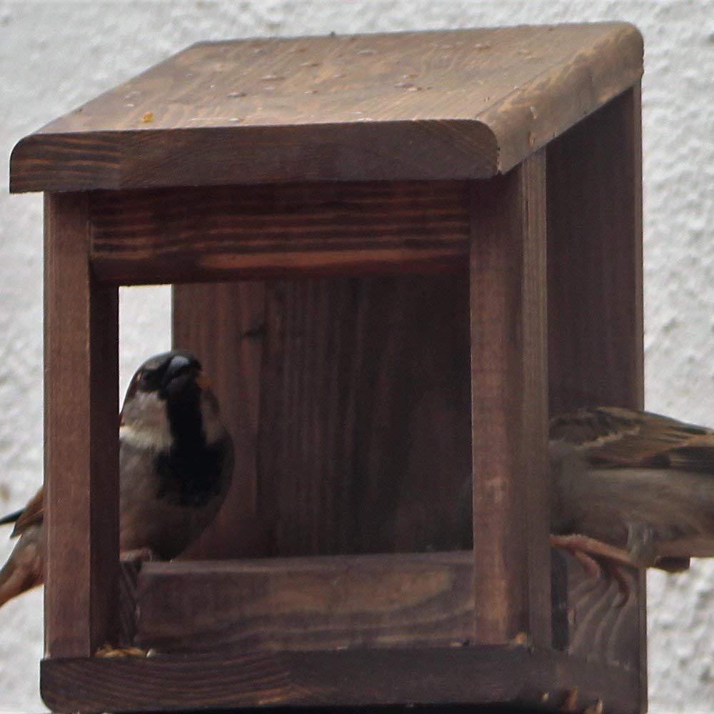 Comedero para pájaros 'Wengué'