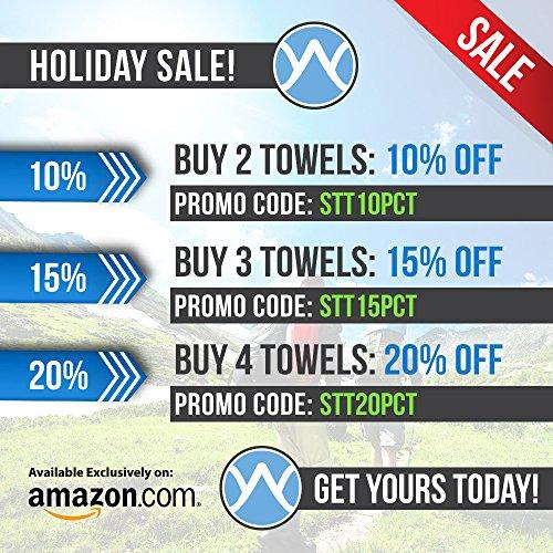 Youphoria Sport Microfiber Multi-purpose Travel Towel