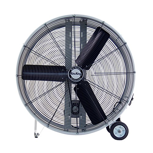 Air King 9936D Industrial Grade Belt Driven Drum Fan, 36-Inc
