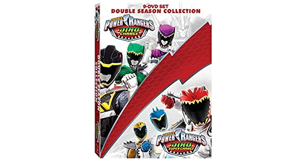 Amazon.com: Power Rangers: Dino Charge & Dino Super Charge ...