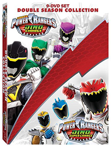 Power Rangers Dino Charge & Dino Super Charge Coll 9 Dvd ...