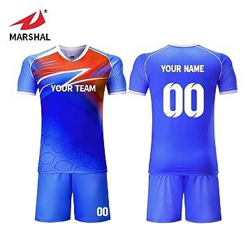 69000e6dd ZHOUKA Custom team numbers name logo youth kit uniform football jersey (S)