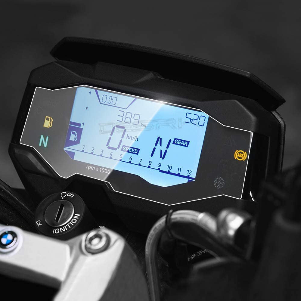 Coolsheep 2pcs Motorcycle Cluster Scratch Screen Protection Dashboard Instrument Film Protector for BMW G310R G310GS 2017 2018