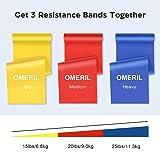 OMERIL Resistance Bands Set, 3 Pack Latex