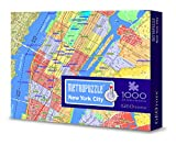 METROPUZZLE New York - 1000 pc Jigsaw Puzzle by Geotoys