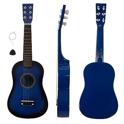Guitarra acústica para principiantes con púa y cuerda de acero ...