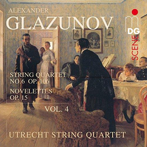 Four Quartet (Glazunov: String Quartets Vol. 4)