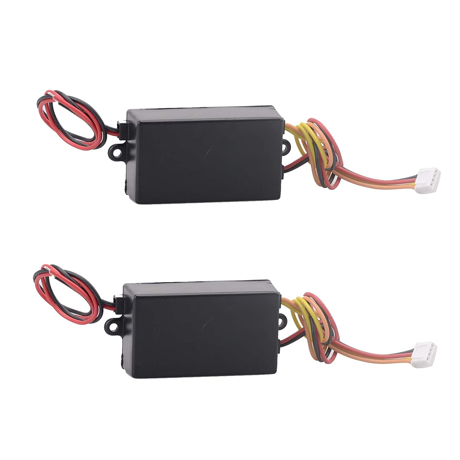 2PCS 12V Mallofusa Universal Car Tail LED Light 3-Step Sequential Dynamic Chase Flash Module Boxes Controller for Front Rear Turn Signal Light Retrofit Use
