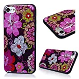 iPhone 7 Case (4.7 inch) - 6 Pcs Shock-absorption Soft TPU Rubber Skin Gel Bumper Case Transparent Crystal Clear Cute Colorful Print Patterns Ultra Thin Slim Protective Cover by Badalink - Group 11