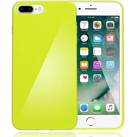 iphone 8 case neon yellow
