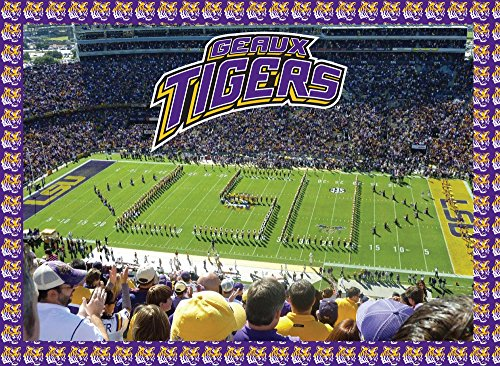 (LSU Tigers Jigsaw Puzzle )
