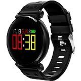 K2 SmartWatch per Uomo Donna Bambini , Impermeabile Bluetooth Touch Screen Cardiofrequenzimetro / Pedometro / Sonno / Pressione sanguigna / Ossigeno nel sangue Sport Fitness Salute Activity Tracker Smartwatch per Android e iOS Smartphone
