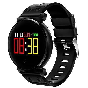Monitor de ritmo cardíaco y rastreador de ejercicios a prueba de agua SmartWatch Man de Android