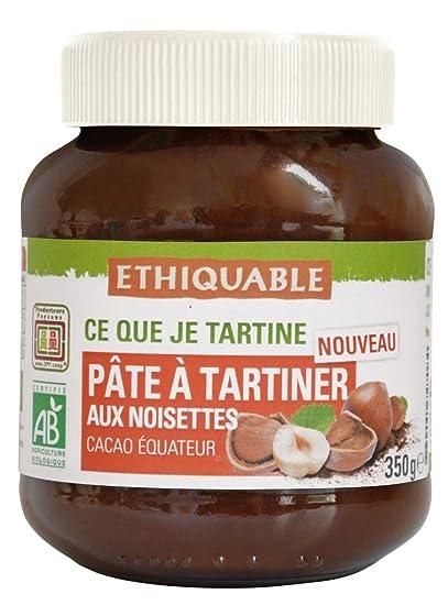 Ethiquable Crema de Cacao con Avellanas Bio - 350 gr