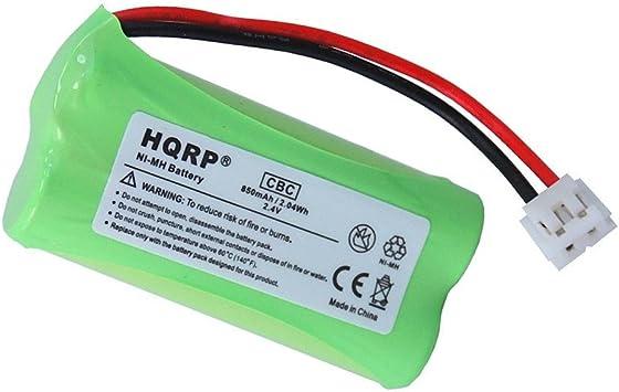 HQRP-Batería para General Electric GE 5-2734 Teléfono fijo inalámbrico: Amazon.es: Electrónica