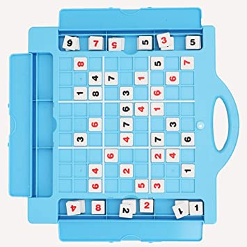 Tnfeeon Juego de Mesa de ajedrez, Juegos Tradicionales creativos Juguete de ajedrez Juguete de lógica matemática Maravillosos Regalo Entrenamiento (Azul): Amazon.es: Juguetes y juegos