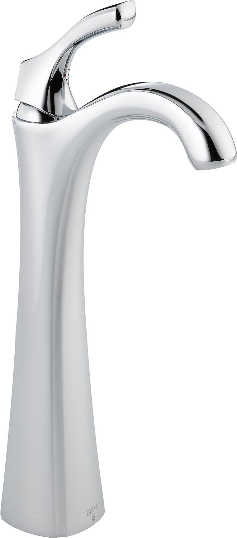 Delta 792 DST Addison Single Handle Centerset Bathroom Faucet With Riser    Less Pop Up, Chrome   Touch On Bathroom Sink Faucets   Amazon.com