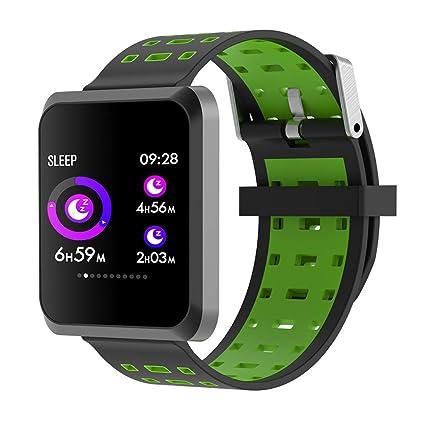 XZYP Bluetooth Smartwatch, TPU Correa Pantalla TáCtil Reloj ...