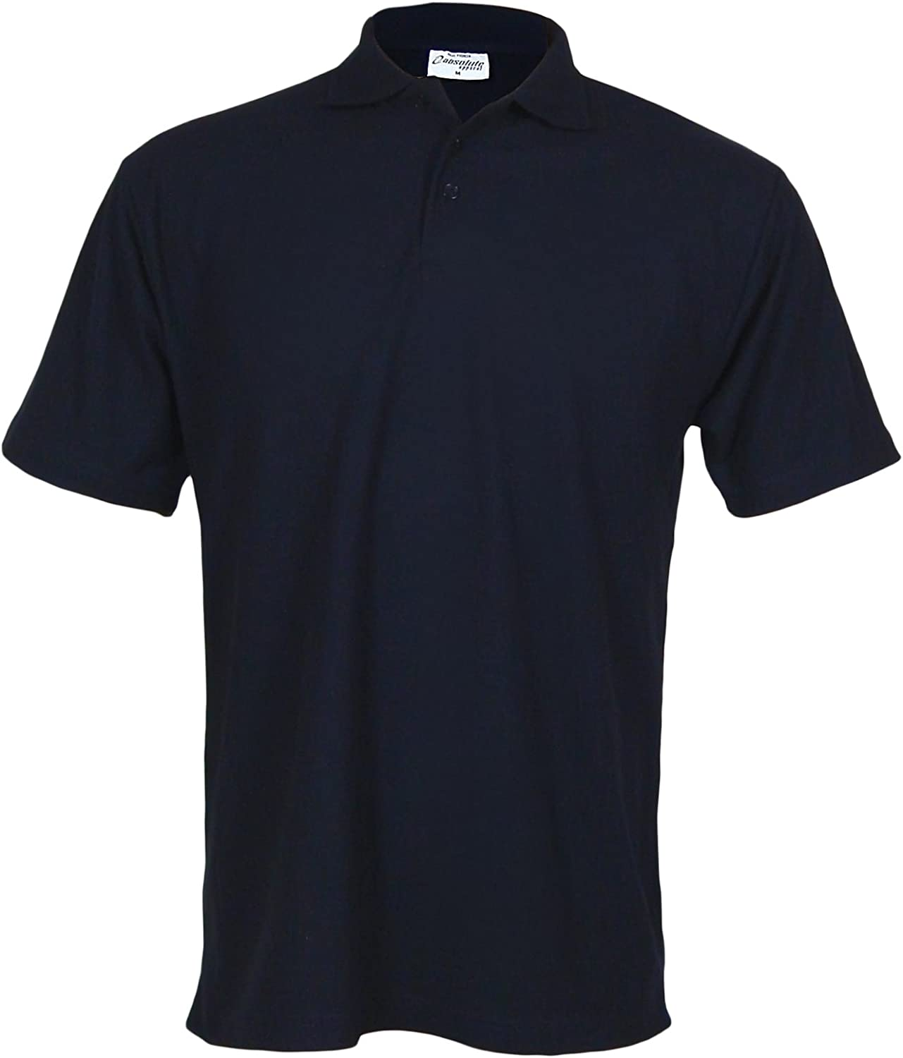 PRO RTX Men/'s Short Sleeve Casual Workwear Uniform Polo shirt Top Size XS to 7XL
