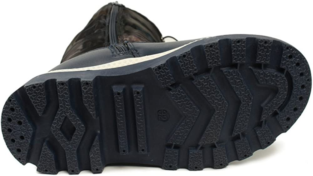 A2kmsmss5a Winter Children PU Leather Boots Kids Snow Brand Girls Boys Rubber Plush Boots Fashion Waterproof