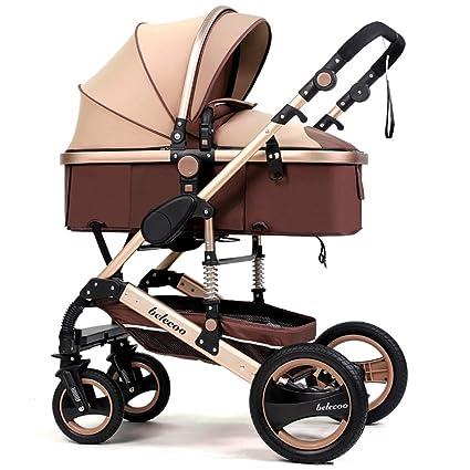 Puede estar acostado carro, trole de bebé de alto perfil, invierno y verano de