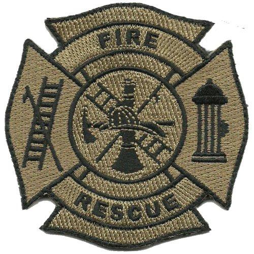 Gadsden and Culpeper Fire & Rescue Tactical Patch - Coyote Tan