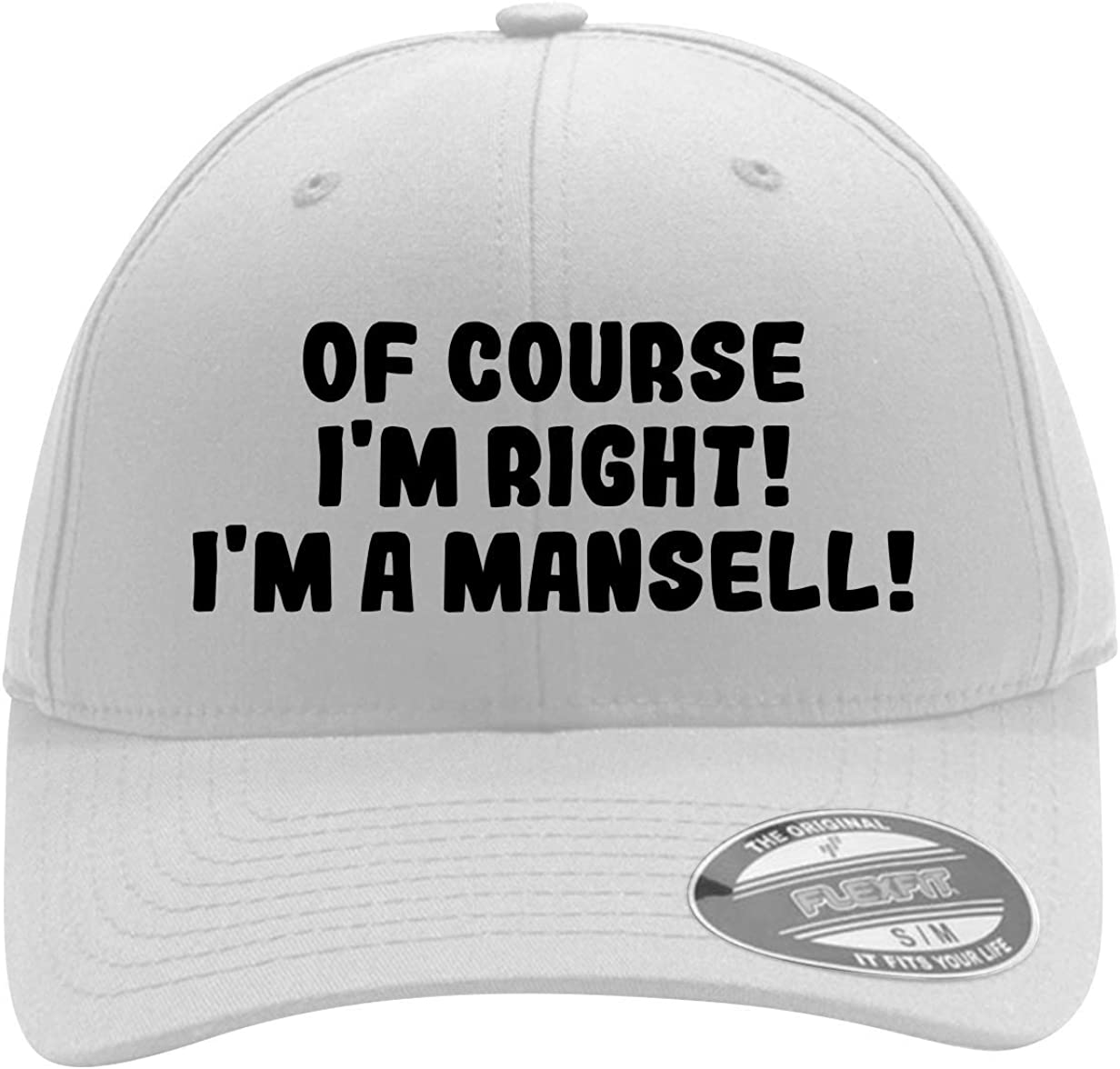 of Course I'm Right! I'm A Mansell! - Men's Flexfit Baseball Cap Hat 61DdGHV0F1L