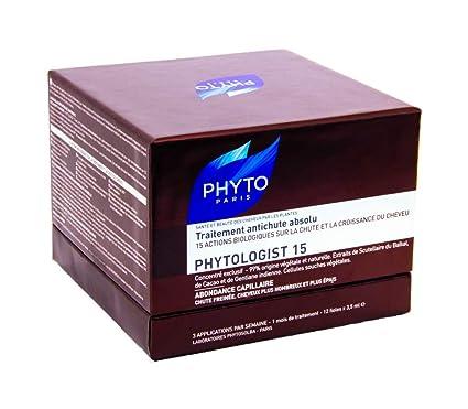 2 paquetes dePhyto Phytologist 15:tratamiento intensivo anticaída global