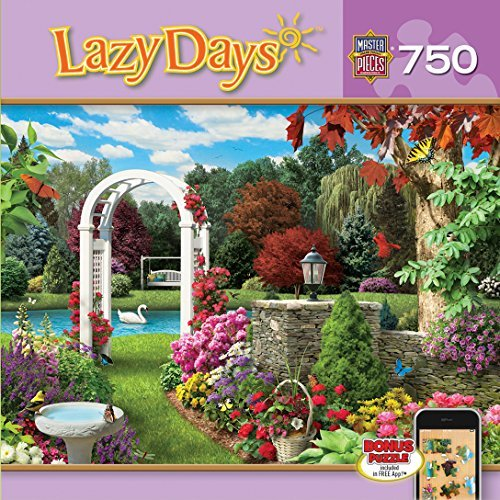 (Masterpieces Glorious Garden Lazy Days Jigsaw Puzzle (750-Piece) by MasterPieces)