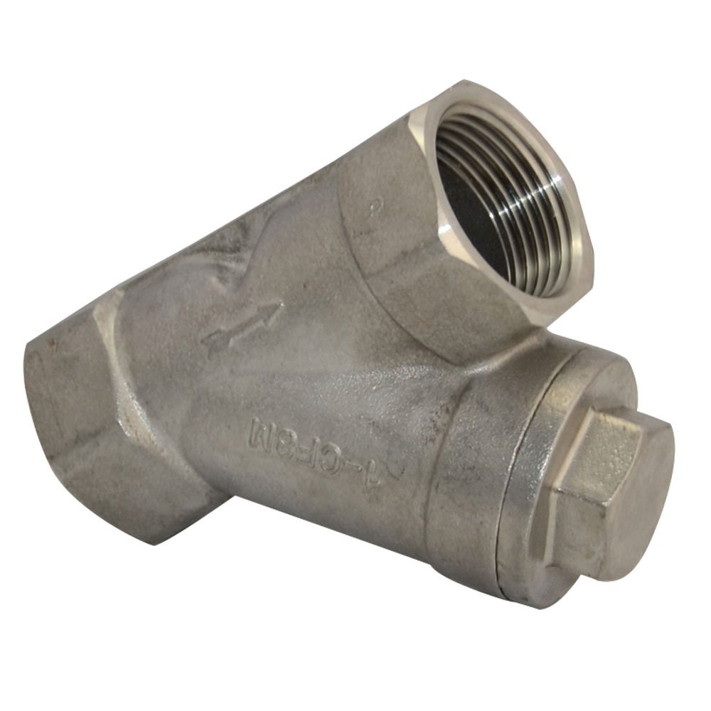 "1"" WYE STRAINER Mesh Filter Valve 800 WOG Stainless Steel SS316 CF8M NEW"