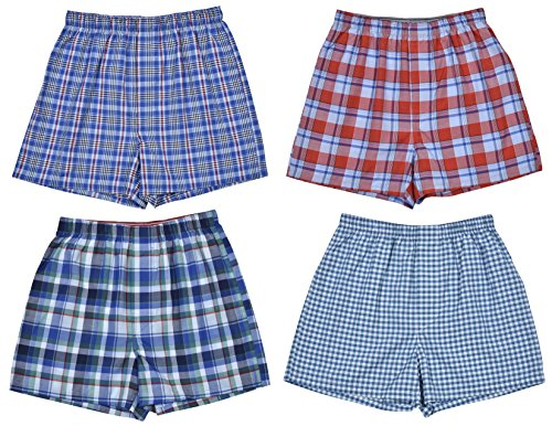 Pack Woven Boxer Shorts (Large / 14-16, Classic Assortment III) ()