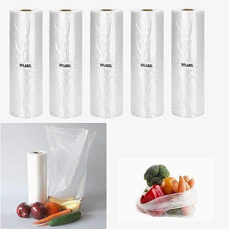 Amazon.com: 5 rollos de papel de verduras de plástico de ...