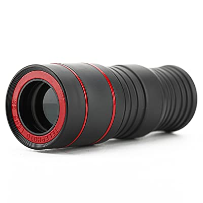 Télescope monoculaire 8x 30mm–Noir + Rouge