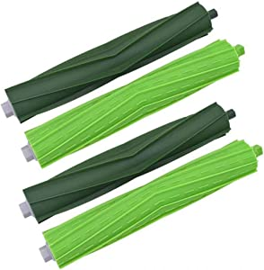 ANBOO Replacement Parts for Roomba S9 Series Rubber Brush for iRobot Roomba s9(9150) s9+(9550) Replenishment Kit Roller Brush 2 Pack