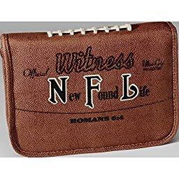 Bible Cover - NFL Football Large-Tan