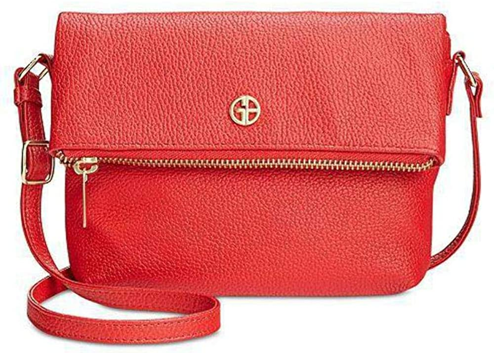 Giani Bernini Pebble Leather Mini Crossbody