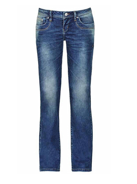 LTB Damen Jeans Valerie - Bootcut - Blau - Carmita Wash