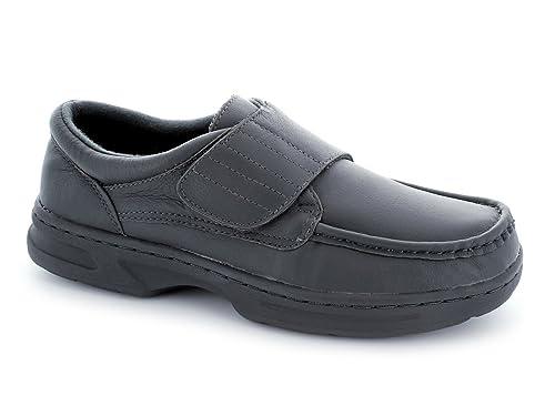 Dr Keller - Mocasines de Piel para Hombre Gris Gris: Amazon.es: Zapatos y complementos