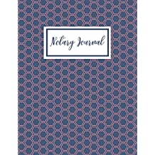 Notary Journal: A Notary Book To Log Notary Records