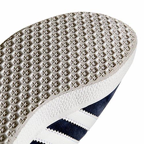 Adidas Gazelle Mannen Sneaker. Schoenen Laag-hoogste Collegiale Navy / Wit / Goud