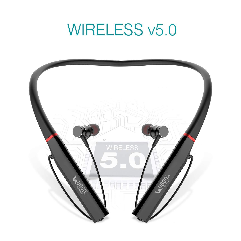 Ubon Cl 75 Wireless Neckband Earphone In Ear Earbuds Amazon In Electronics