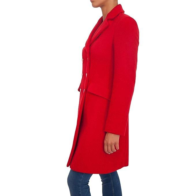 Love Moschino Cappotto Donna W K 452 00 T 9534-O81 Rosso II090W-K ... 1c205325b61