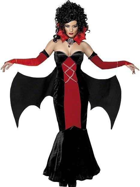 NET TOYS Traje de Halloween de vampiresa gótica Disfraz Mujer ...