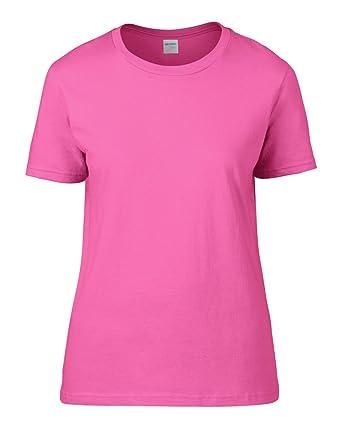 39529bd21da6c1 Gildan Ladies Premium Cotton RS T-Shirt: Amazon.co.uk: Clothing
